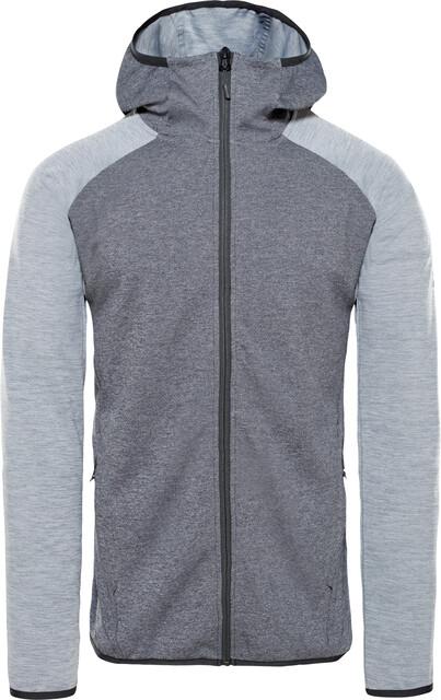 The North Face Ondras II Bluza Mężczyźni, tnf black heathermid grey heather